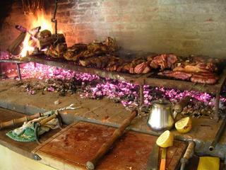 Uruguay typical asado