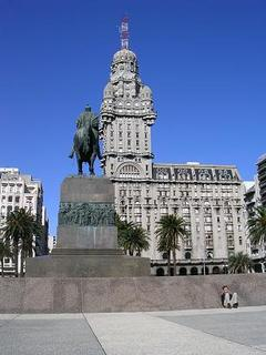 Uruguays's downtown sights