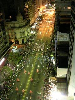 Uruguay's carnival 18 de julio parade