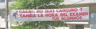 Uruguay world cup championship, garat kangaroo, street banner