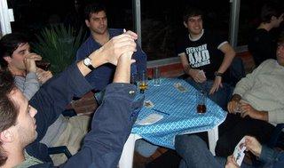 Uruguay playing truco