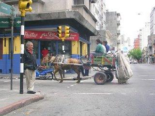Uruguay horse carts