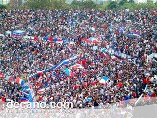 Nacional supporters Uruguay
