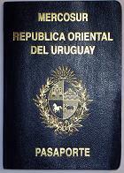 Uruguayan passport picture