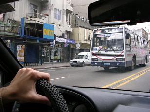 Uruguay city buses