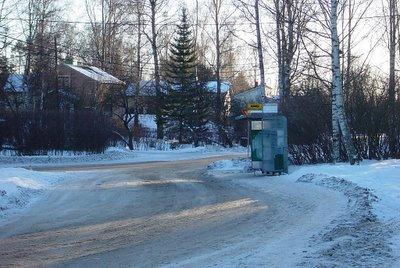 Bus stop Helsinki