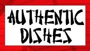 authentic dishes