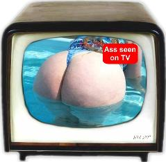 ass seen on tv
