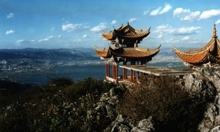 Bamboo Temple Kunming China Beautiful View
