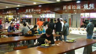 Chinese Food Court Shanghai