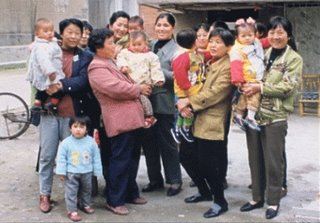 Chinese Old And New General Family