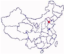 Tianjin China Map