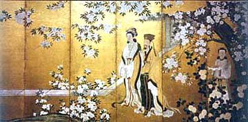 Image of The Emperor Tang Xuanzong and Yang Gui Fei