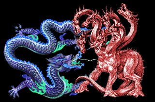 Eastern Dragon vs Western Dragon