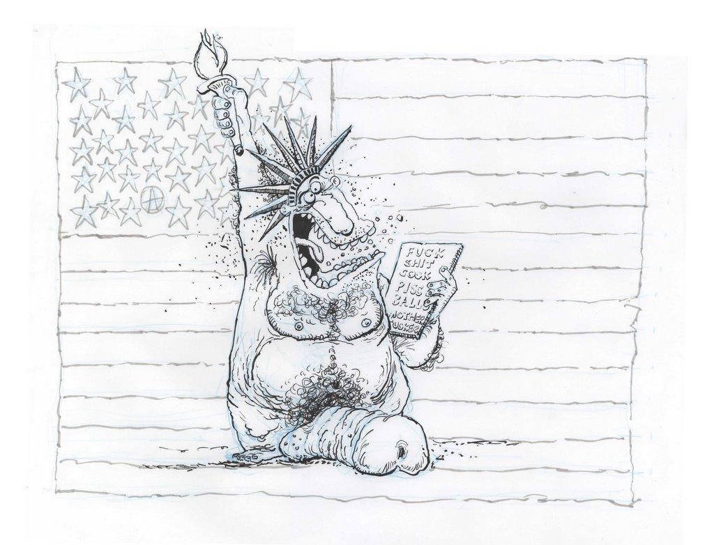 walleye sketch