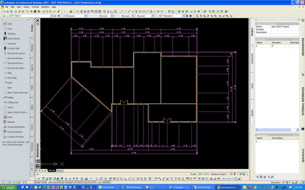 Breaking Down the Walls: Architectural Desktop 2007 - New Feature ...