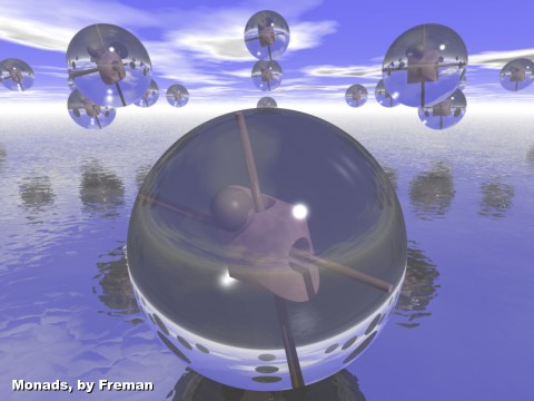 Mónadas: fantasía ontológica
