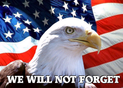 We will not forget