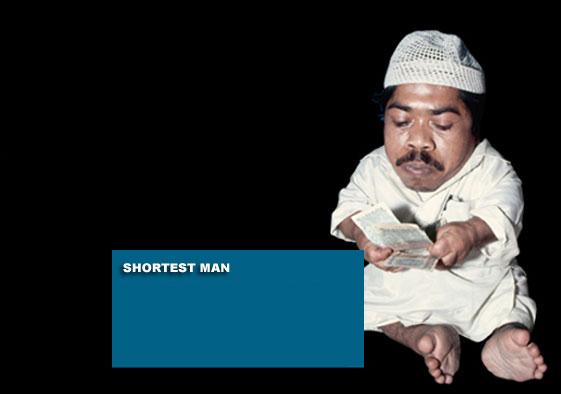 The shortest ever mature human