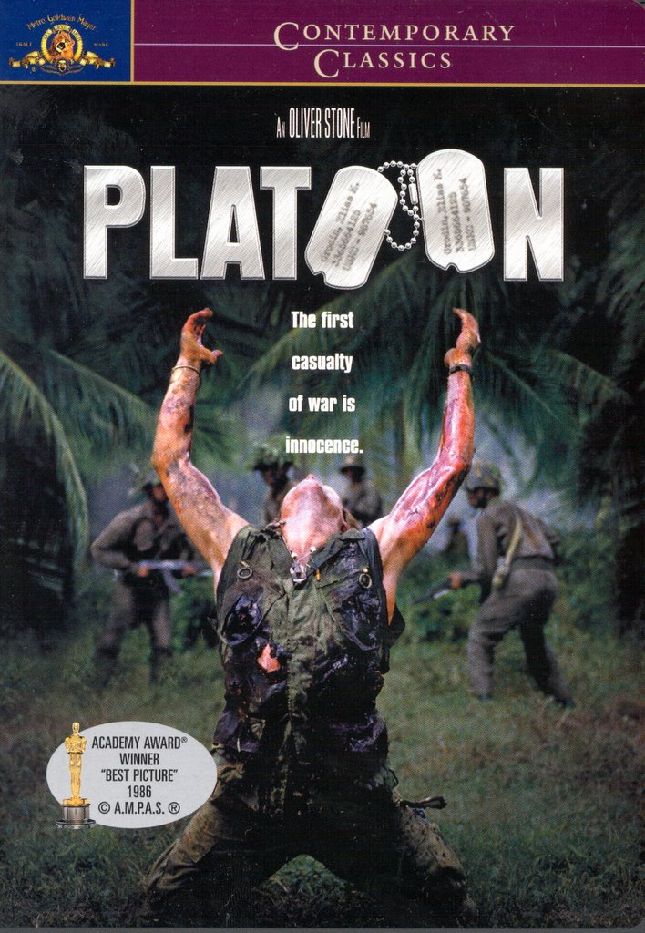 essay film analysis of platoon Nothing that oliver stone has done before - including ''midnight express,'' for which he wrote the screenplay, and ''salvador,'' which he wrote and directed - is preparation for the singular achievement of his latest film, ''platoon,'' which is possibly the best work of any kind about the vietnam.