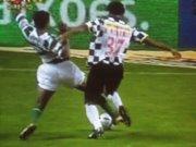 Penalty sobre Nani