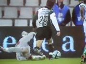 Penalty sobre Moutinho