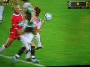 Penalty sobre João Alves