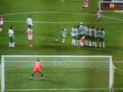 Primeiro golo de Petit