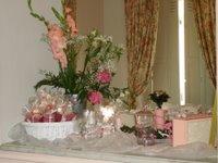 Display fleurs et dragées
