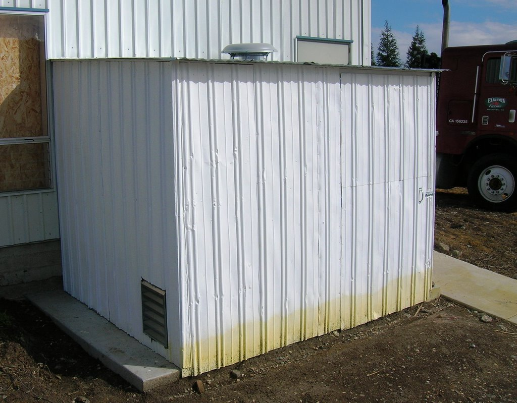 My life project 2 compressor shed for Shed project