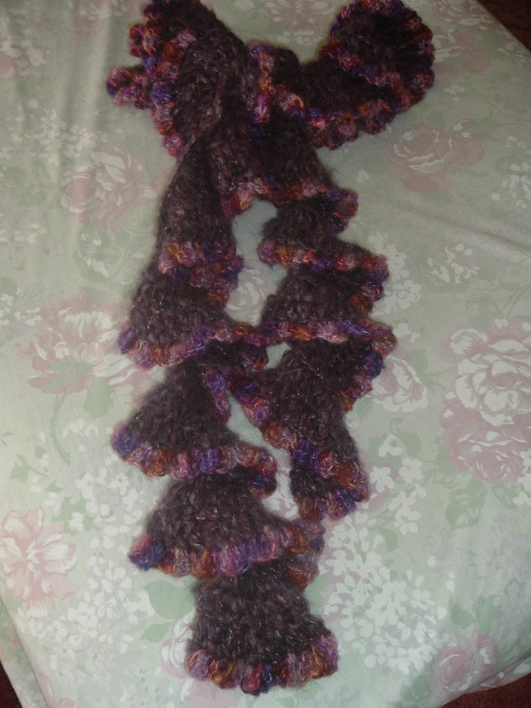 Wild Yarn: Curly Girl Scarf