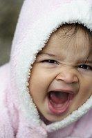 yelling baby