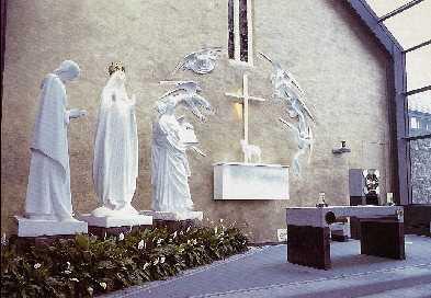 Knock Virgin Mary Apparition