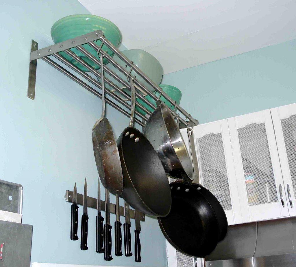 Pots And Pans Wall Rack Ikea - Wall Design Ideas