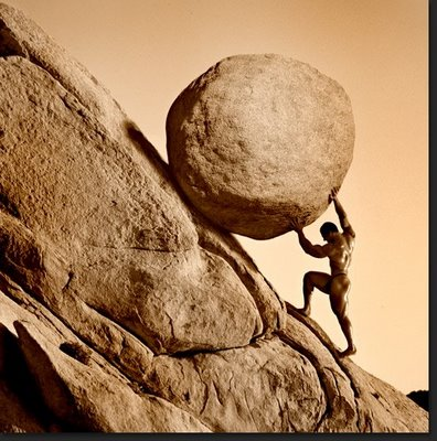 Be like Sisyphus!