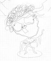 Fonte-Hendrix, hecho por Adrián
