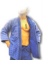Kanji del Judo tatuat al pit d'un judoka