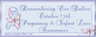 Pregnancy and Infant Loss Remembrance Day