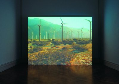 Mark Lewis, Windfarm, 2001, 35 mm on DVD, 4 min, color, sound. © Mark Lewis