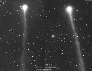 Imágenes del cometa C/2006 M4