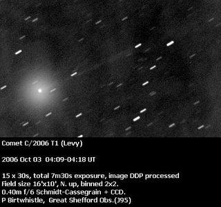 Cometa C/2006 T1 Levy