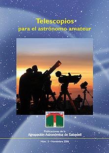 Portada del libro sobre Telescopios
