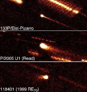 Cometas del Cinturón Principal de Asteroides