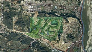 Los Valles Golf project map