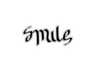 smile ambigram