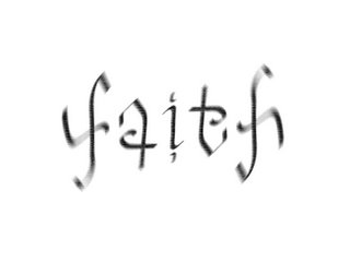 Faith Ambigram