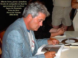 Alberto Serra - autógrafos