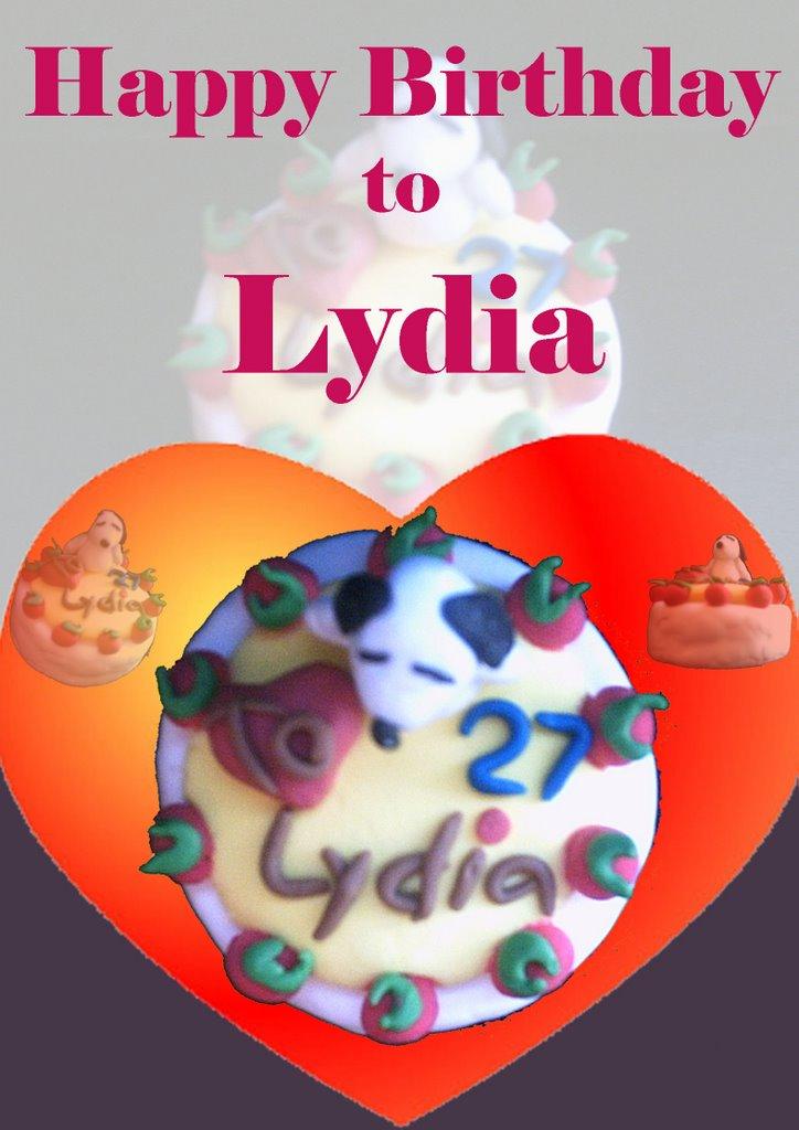 Happy Birthday to Lydia~ :)