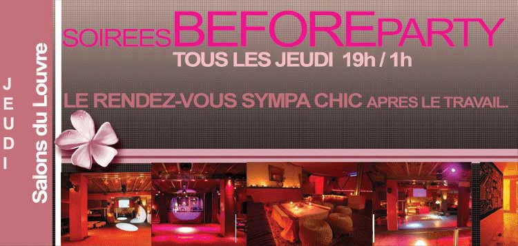 Soir es et after work paris before party aux salons du for Salon du louvres