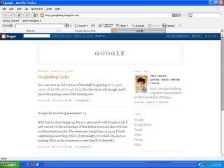 google blog hacked
